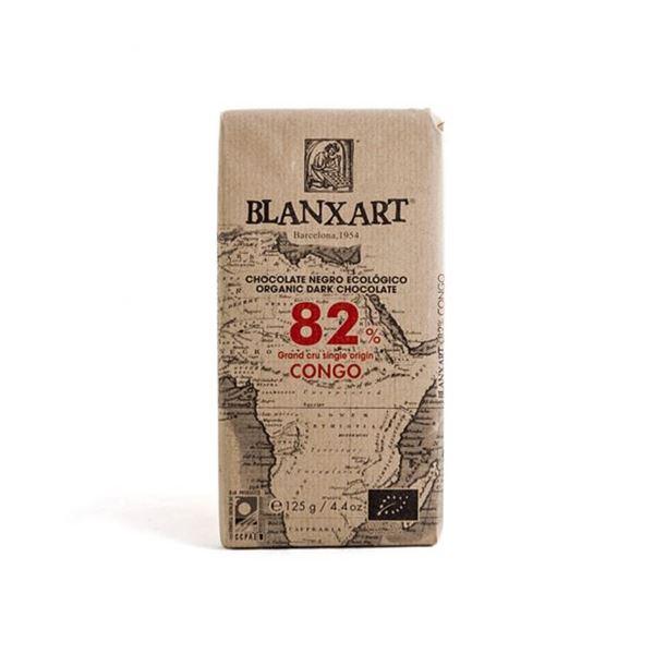CHOCOLATE CON LECHE CONGO 82% - BLANXART