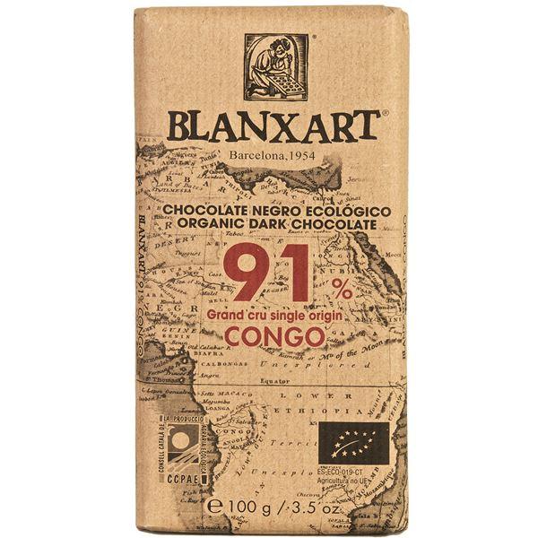 CHOCOLATE CON LECHE CONGO 91% - BLANXART