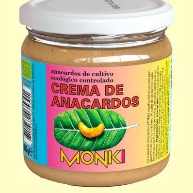 CREMA DE CACAUETS BIO MONKI - VEGETALIA