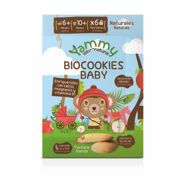 GALLETAS bio cookies - YAMMY BABY