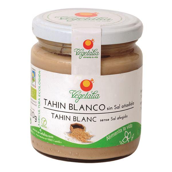 Tahini BLANCO BIO SIN SAL - VEGETALIA