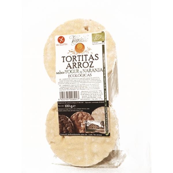 TORTETES D'ARRÒS AMB SABOR A IOGURT I TARONJA
