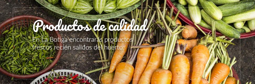 tienda online de frutas y verduras - calidad